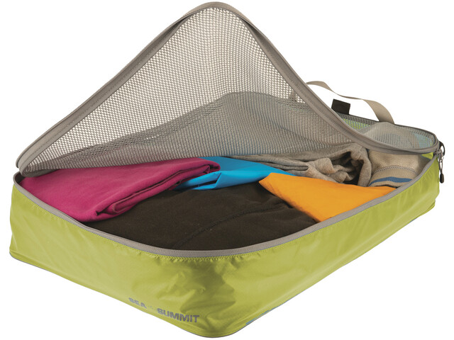 Sea to Summit Garment Mesh Bag L, lime/grey